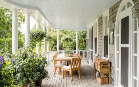 Thiết kế sảnh hiên nhà đẹp có diện tích phù hợp với công trình