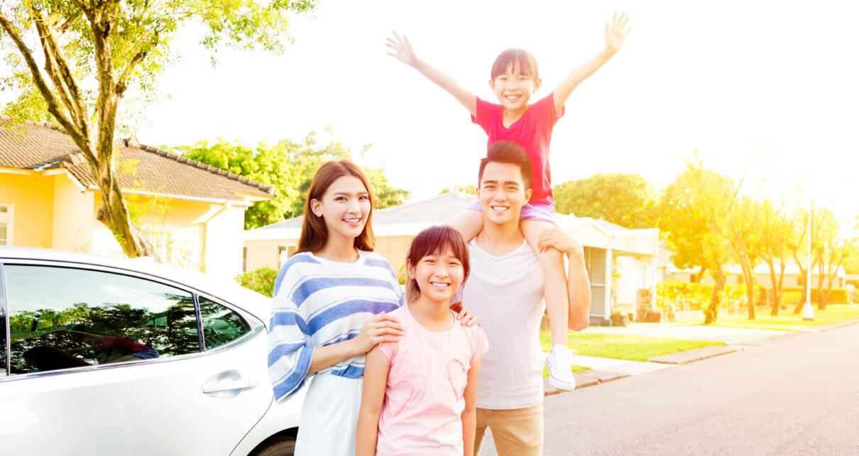 Gia đình là nơi giúp tạo nên những đứa trẻ hạnh phuc