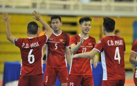 Futsal Việt Nam giành vé dự World Cup