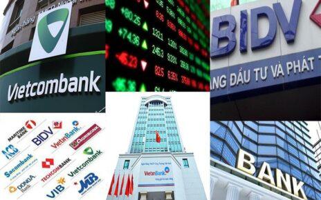 Tốc độ tăng trưởng cao khiến giá mặt bằng cổ phiếu ngân hàng cao